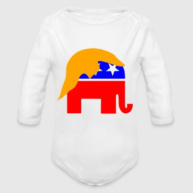 Celebrity - Organic Long Sleeve Baby Bodysuit