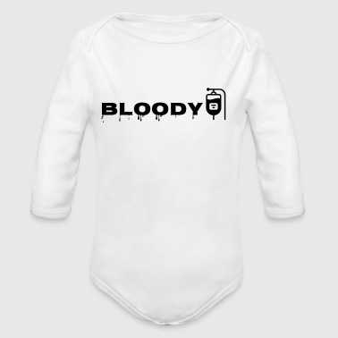 Bloody - Organic Long Sleeve Baby Bodysuit