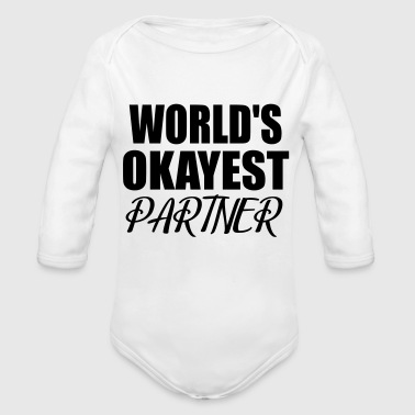 Partner partner - Organic Long Sleeve Baby Bodysuit
