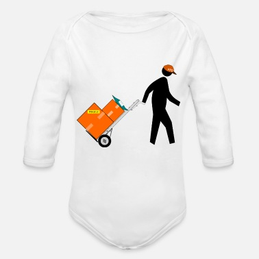 Delivery Delivery - Organic Long-Sleeved Baby Bodysuit