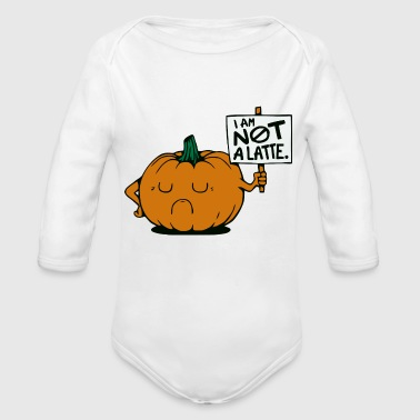 A PUMPKIN PROTEST - Organic Long Sleeve Baby Bodysuit