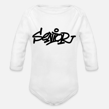Senior Senior - Organic Long-Sleeved Baby Bodysuit