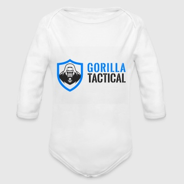 Gorilla Tactical - Organic Long Sleeve Baby Bodysuit