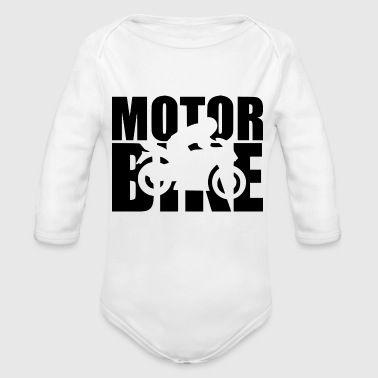 MOTOR BIKE - Organic Long Sleeve Baby Bodysuit