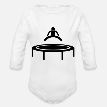 Exercise is exercising - Organic Long-Sleeved Baby Bodysuit