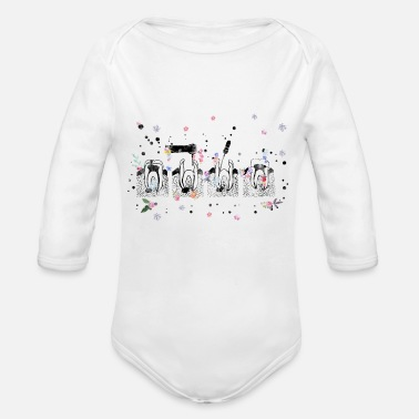 Canal The root canal therapy - Organic Long-Sleeved Baby Bodysuit