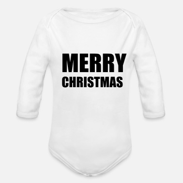 Merry MERRY - Organic Long Sleeve Baby Bodysuit