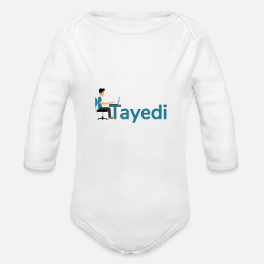 Tayedi the make money online search engine - Organic Long-Sleeved Baby Bodysuit