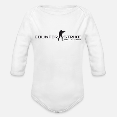 Counter Strike Counter Strike Global Offensive - Organic Long Sleeve Baby Bodysuit