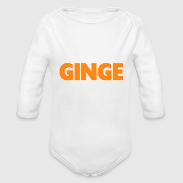 ginger - Organic Long Sleeve Baby Bodysuit