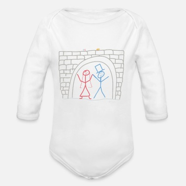 Married Couple Married couple - Organic Long-Sleeved Baby Bodysuit