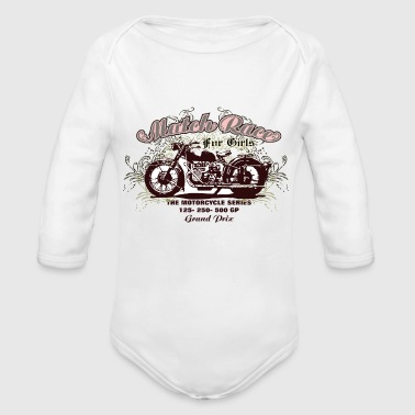 MATCH RACE - Organic Long Sleeve Baby Bodysuit