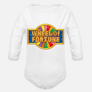 Wheel Wheel Of Fortune - Organic Long Sleeve Baby Bodysuit