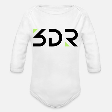 3dr 3DR - Organic Long-Sleeved Baby Bodysuit