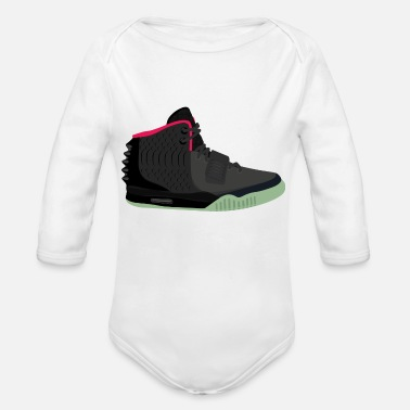 Yeezy Yeezy - Organic Long-Sleeved Baby Bodysuit