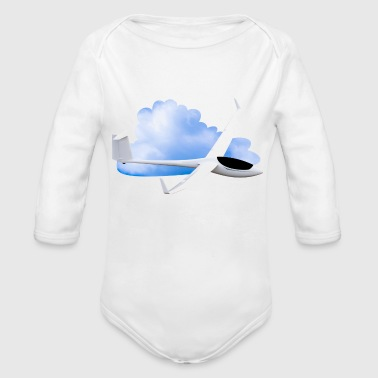 Sky Thermals glider DG800 - Organic Long Sleeve Baby Bodysuit