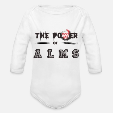 Alm The Power of ALMS - Organic Long-Sleeved Baby Bodysuit