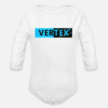 Vertex Vertex Window Box Style - Organic Long-Sleeved Baby Bodysuit