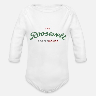 Roosevelt The Roosevelt Coffeehouse - Organic Long Sleeve Baby Bodysuit