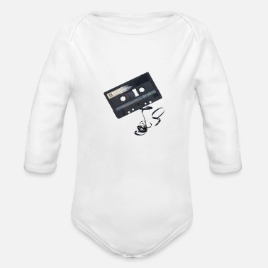 Old School Old school - Organic Long Sleeve Baby Bodysuit