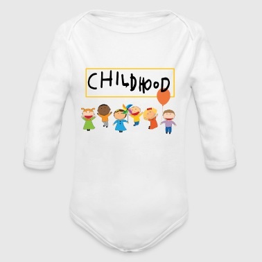 CHILDHOOD Design - Organic Long Sleeve Baby Bodysuit