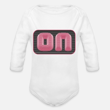 Pull On Pull Effect - Organic Long-Sleeved Baby Bodysuit