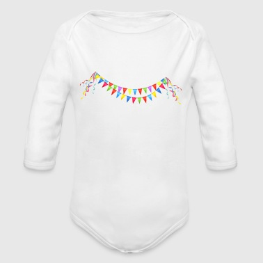 CELEBRATION ON - Organic Long Sleeve Baby Bodysuit
