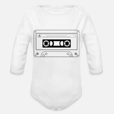 Tape tape - Organic Long Sleeve Baby Bodysuit