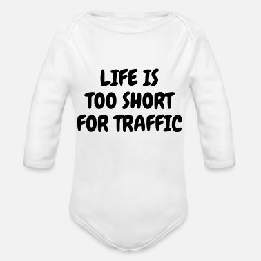 Traffic TRAFFIC - Organic Long-Sleeved Baby Bodysuit