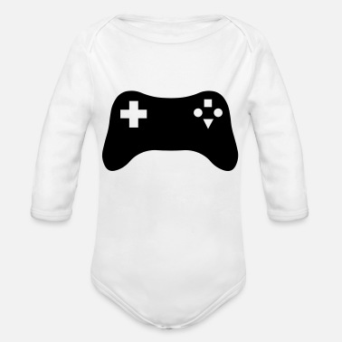 Gaming Console - Organic Long-Sleeved Baby Bodysuit
