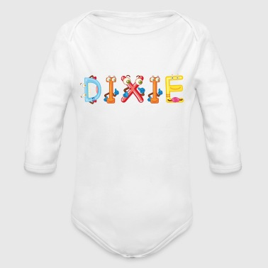 Dixie - Organic Long Sleeve Baby Bodysuit