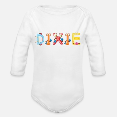 Dixie Dixie - Organic Long-Sleeved Baby Bodysuit