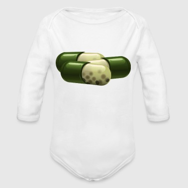 pills - Organic Long Sleeve Baby Bodysuit