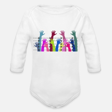 Jail jail - Organic Long-Sleeved Baby Bodysuit