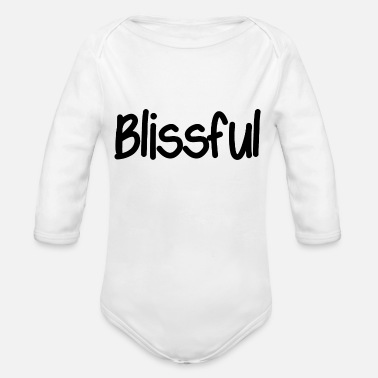 Bliss Blissful - Organic Long-Sleeved Baby Bodysuit