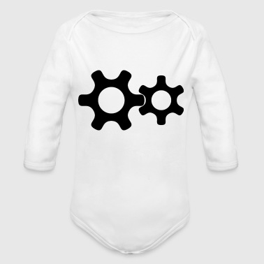 Gear - Organic Long Sleeve Baby Bodysuit