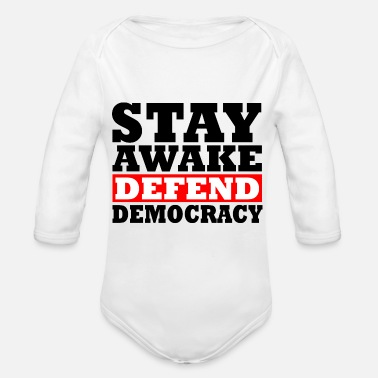 Democracy Democracy - Organic Long-Sleeved Baby Bodysuit