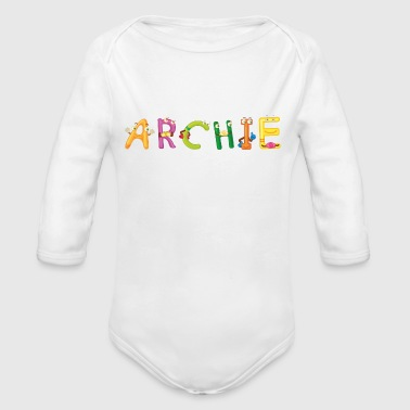 Archie Archie - Organic Long Sleeve Baby Bodysuit