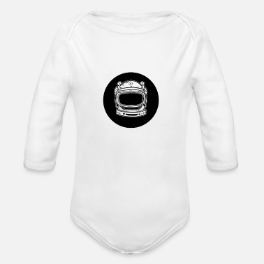 Ussr The USSR Astronaut - Organic Long-Sleeved Baby Bodysuit