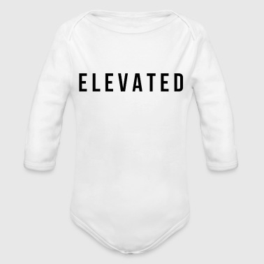Elevated - Organic Long Sleeve Baby Bodysuit