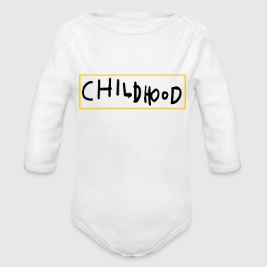 CHILDHOOD SIMPLE - Organic Long Sleeve Baby Bodysuit