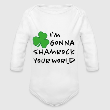 Shamrock - Organic Long Sleeve Baby Bodysuit