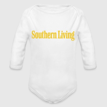 Southern California Southern Living - Organic Long Sleeve Baby Bodysuit
