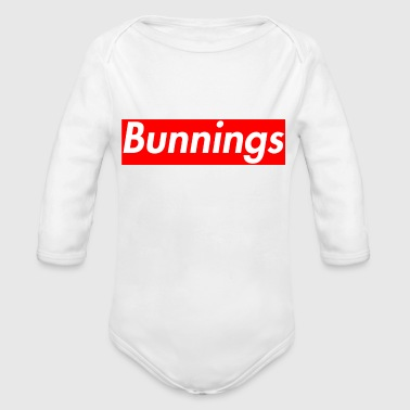 Bunnings Supreme - Organic Long Sleeve Baby Bodysuit