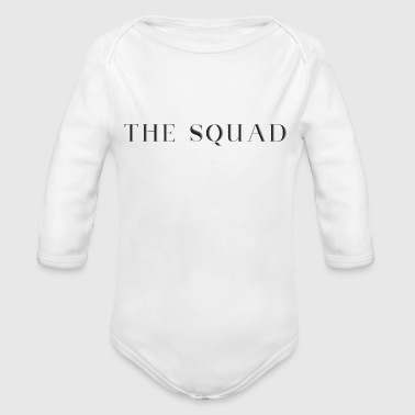 THE SQUAD - Organic Long Sleeve Baby Bodysuit