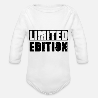 limited edition - Organic Long-Sleeved Baby Bodysuit