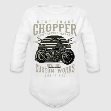Chopper - Organic Long Sleeve Baby Bodysuit