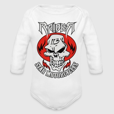Raider star - Organic Long Sleeve Baby Bodysuit