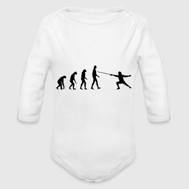 Born In born to be a - Organic Long Sleeve Baby Bodysuit
