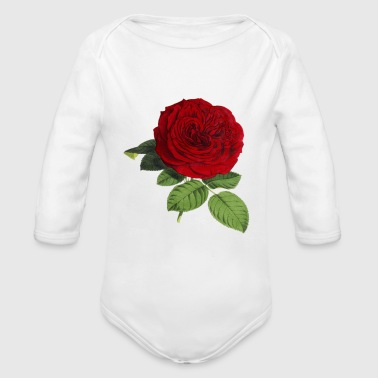 Rose Blume - Organic Long Sleeve Baby Bodysuit